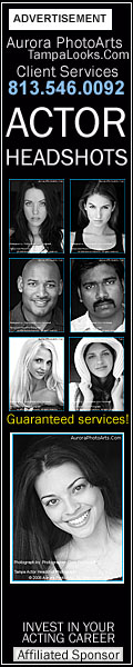 Tampa headshots for talent, actors, and business