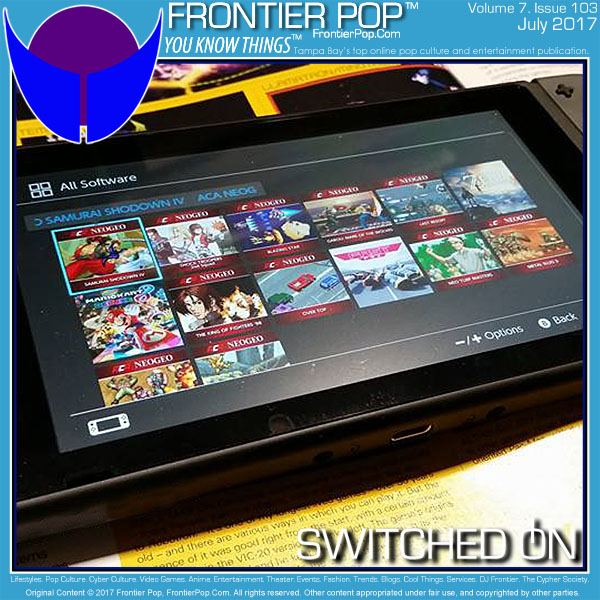 Frontier Pop issue 103 Volume 7 July 2017: Switched On