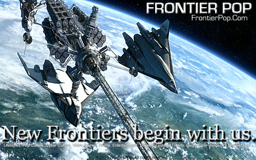 New frontiers begin with us. Frontier Pop. Know things.