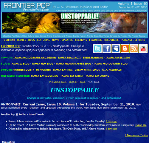 Frontier Pop Issue 10: Unstoppable!
