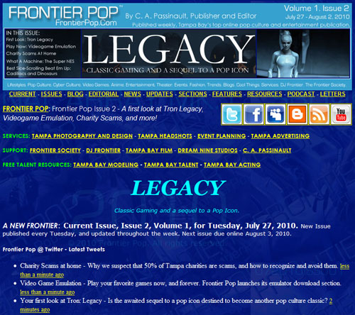 Frontier Pop Issue 2: Legacy